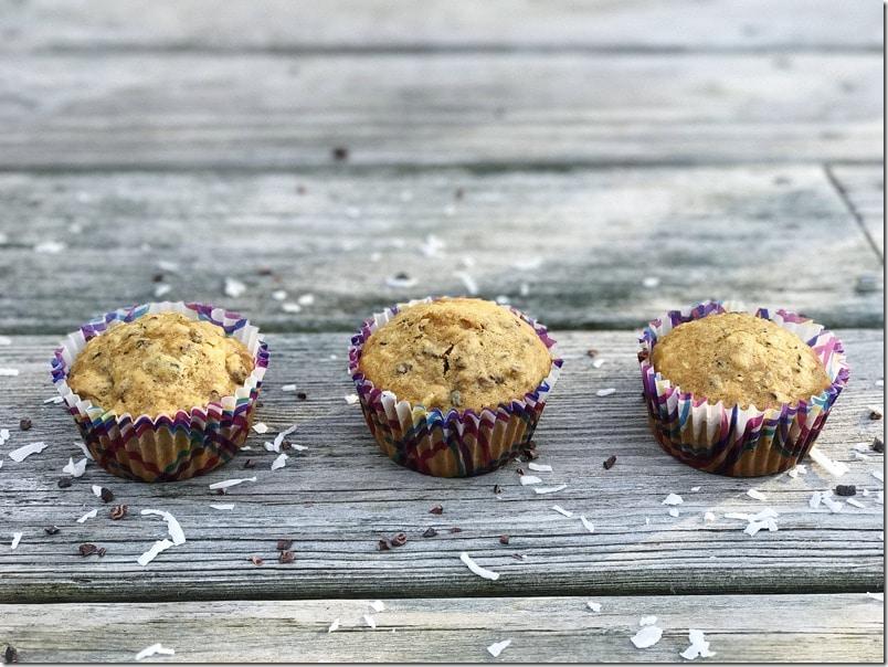 quarter cup muffins