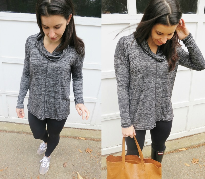 Lucky Brand Cowlneck Tunic