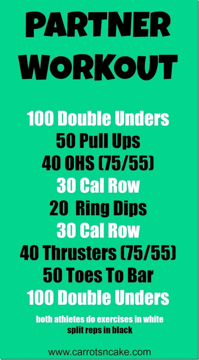 Partner Workout from Salt Shack CrossFit