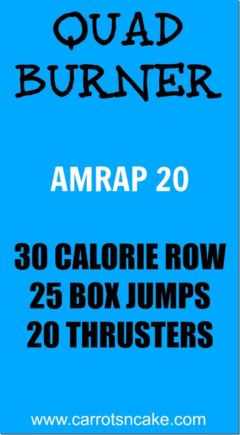 Quad Burner CrossFit Workout