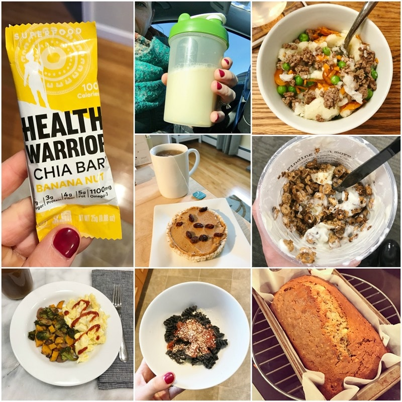 monday in meals jan 9