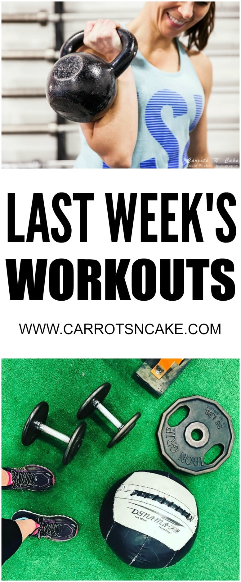 LAST WEEK'S WORKOUTS CNC