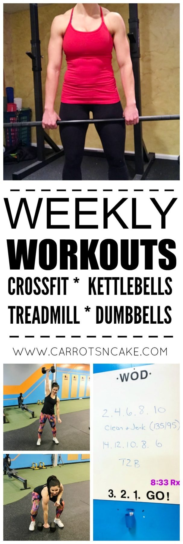 Weekly Workouts + Why I'm Switching Things Up