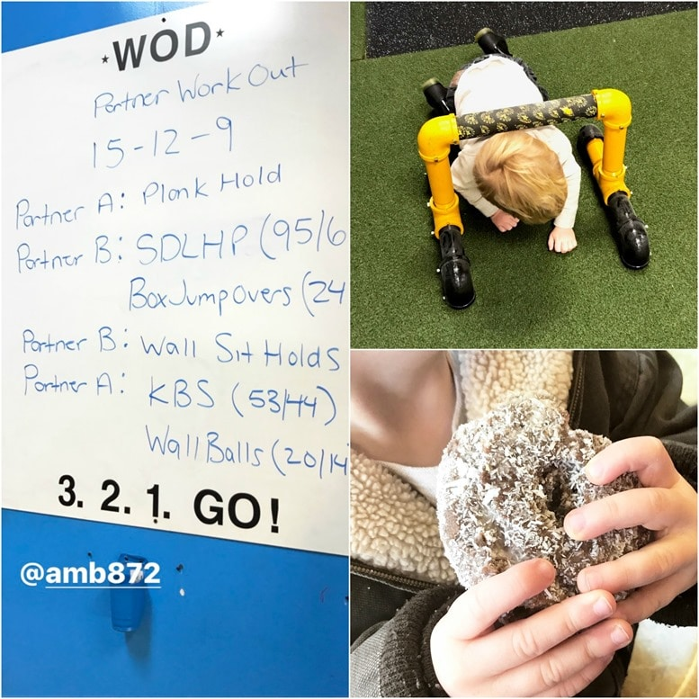crossfit and donuts