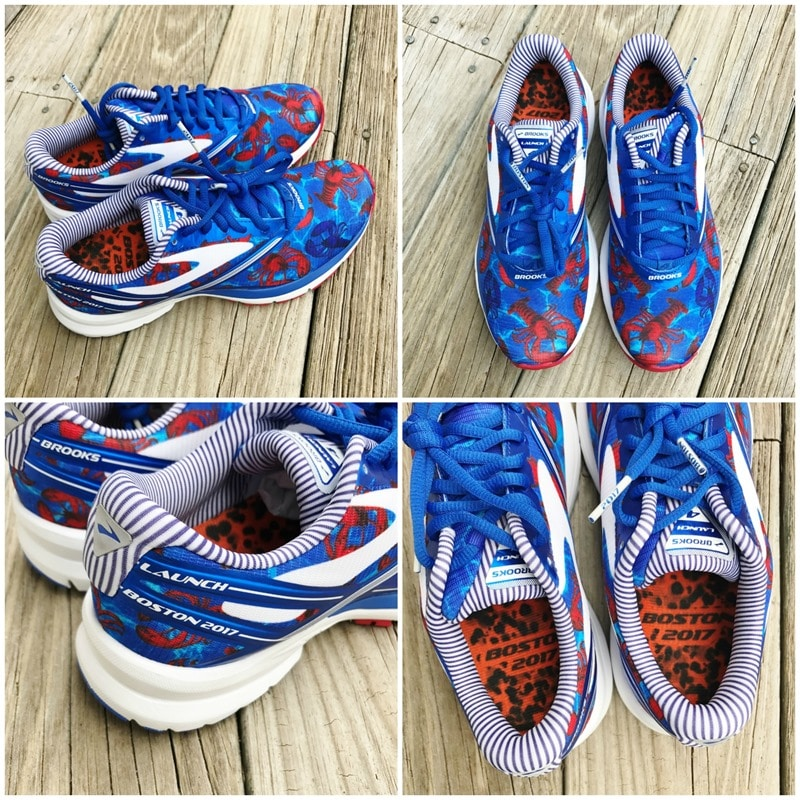 2017 Boston Launch Lobster Sneakers Boston Marathon