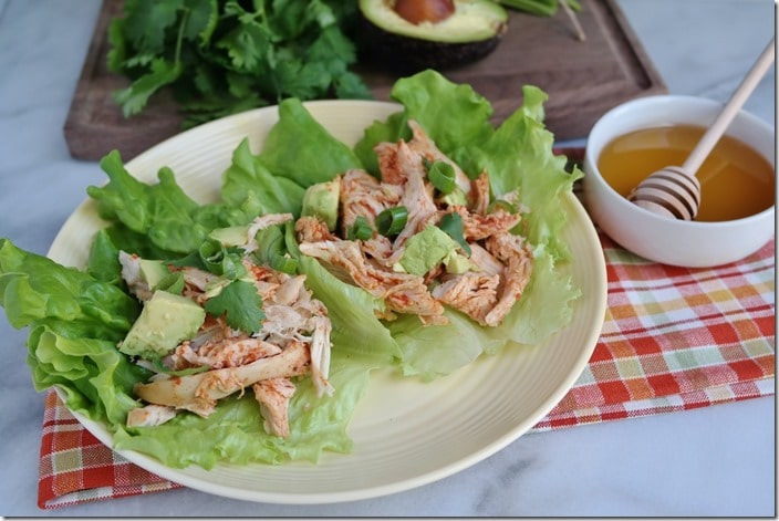 Chipotle Chicken Honey Lettuce Wraps_ (1280x853)