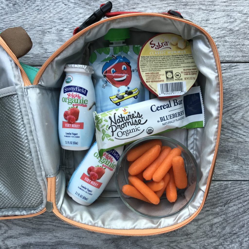 Healthy 5 Minute Lunches For The Whole Family Carrots N Cake Babybelle Box Bayi Type Vienna Natures Promise Organic Cereal Bar Stonyfield Yokids Smoothie Unsweetened Apple Sauce Baby Sabra