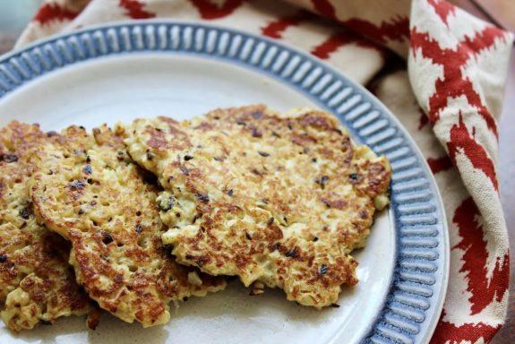 Parmesan Cauliflower Hash Browns Recipe