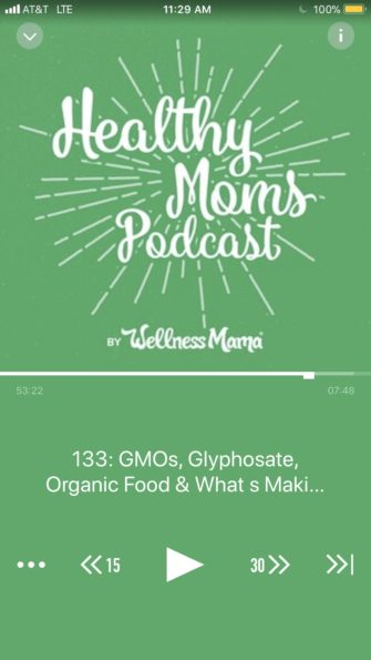 Wellness mama podcast gmo