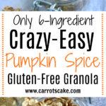 Gluten-Free Pumpkin Spice Granola