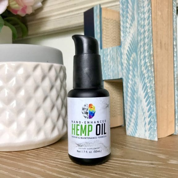 Hemp (CBD) Oil + Ultimate Detox System for Anxiety, Acne