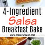 4-Ingredient Salsa Breakfast Bake