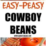 Easy Cowboy Beans Recipe