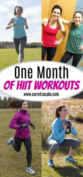 One Month of HIIT Workouts