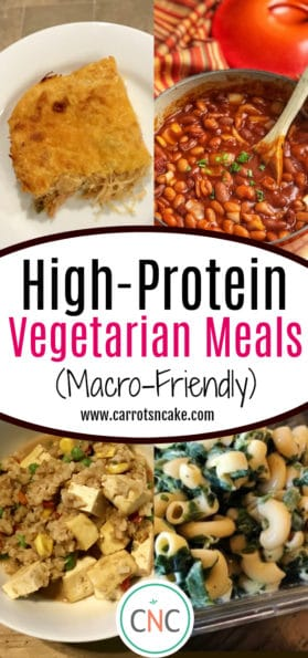 High-Protein Vegetarian Meals (Macro-Friendly)