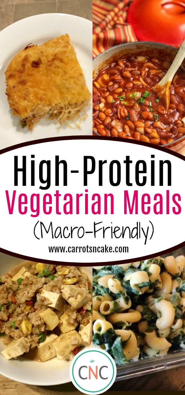 High-Protein Vegetarian Meals [Macro-Friendly]