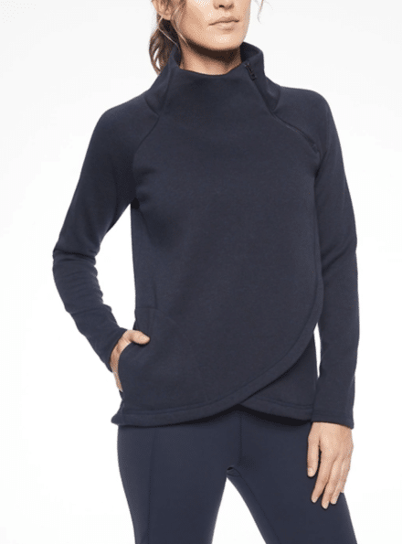 Black pullover from Athleta