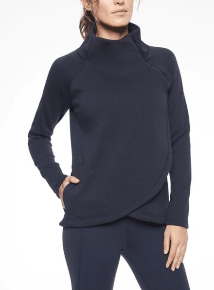 Black pullover from Athleta