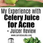 celery juice and acne