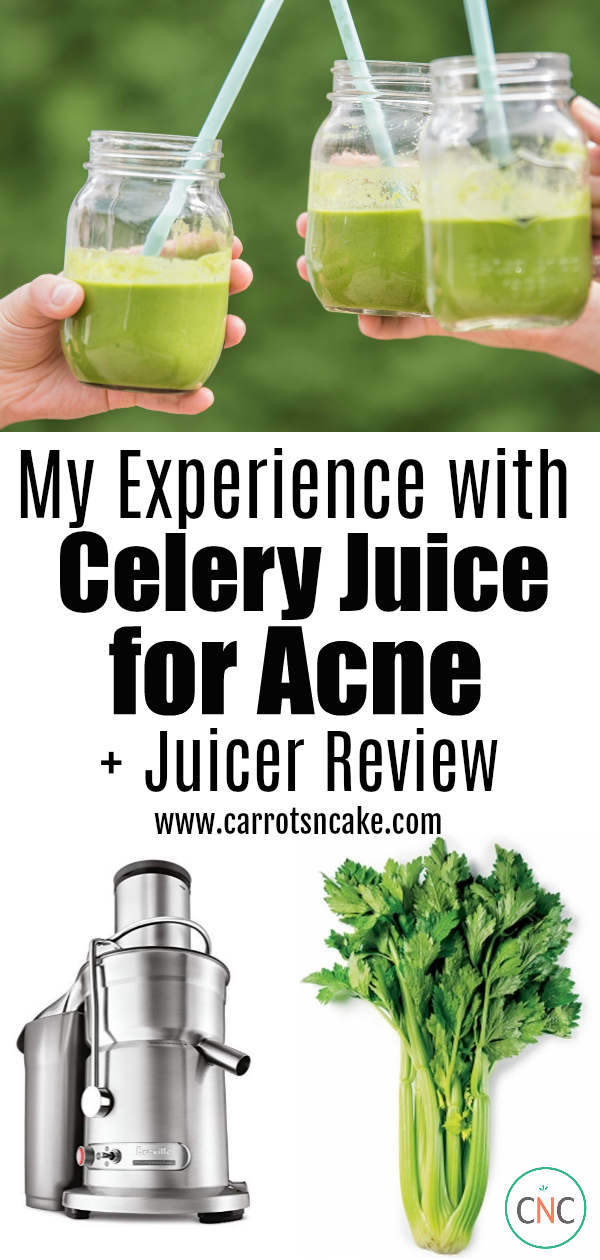 celery juice and acne