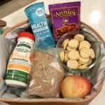 A lunchbox with healthy foods options from Trader Joe's