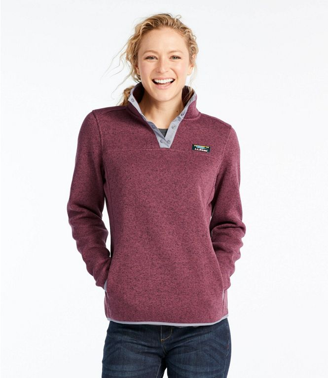LL Bean Sweater Fleece Pullover