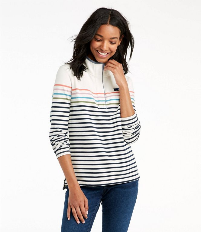 LL Bean Soft Cotton Stripe Rugby