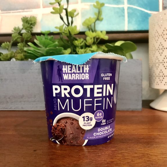 Double Chocolate Protein Muffin from Health Warrior gluten-free