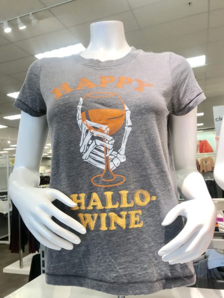 Happy Hallo-Wine t-shirt from Target