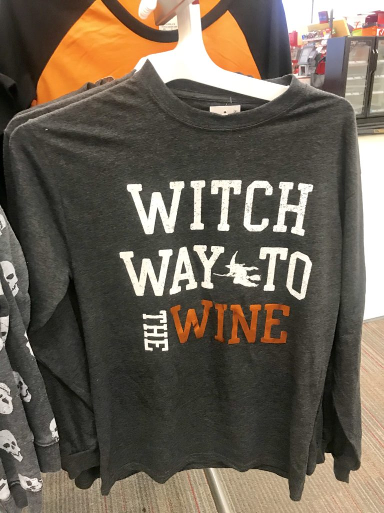 Witch Way to the Wine sweatshirt from Target