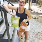 camping with brandless snacks