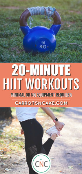 20-MINUTE HIIT WORKOUTS