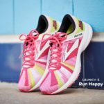 Brooks Run Happy Launch 6 pink sneakers
