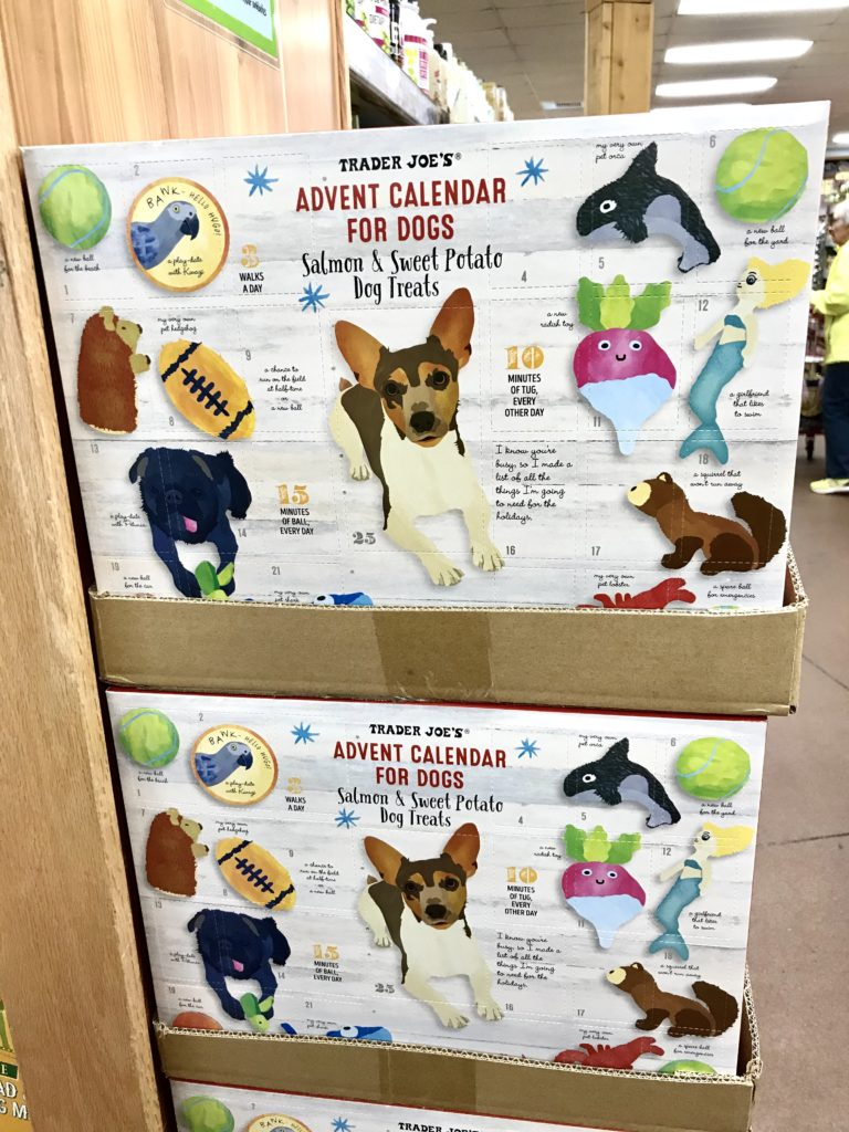 Trader Joe's Advent Calendar for Dogs