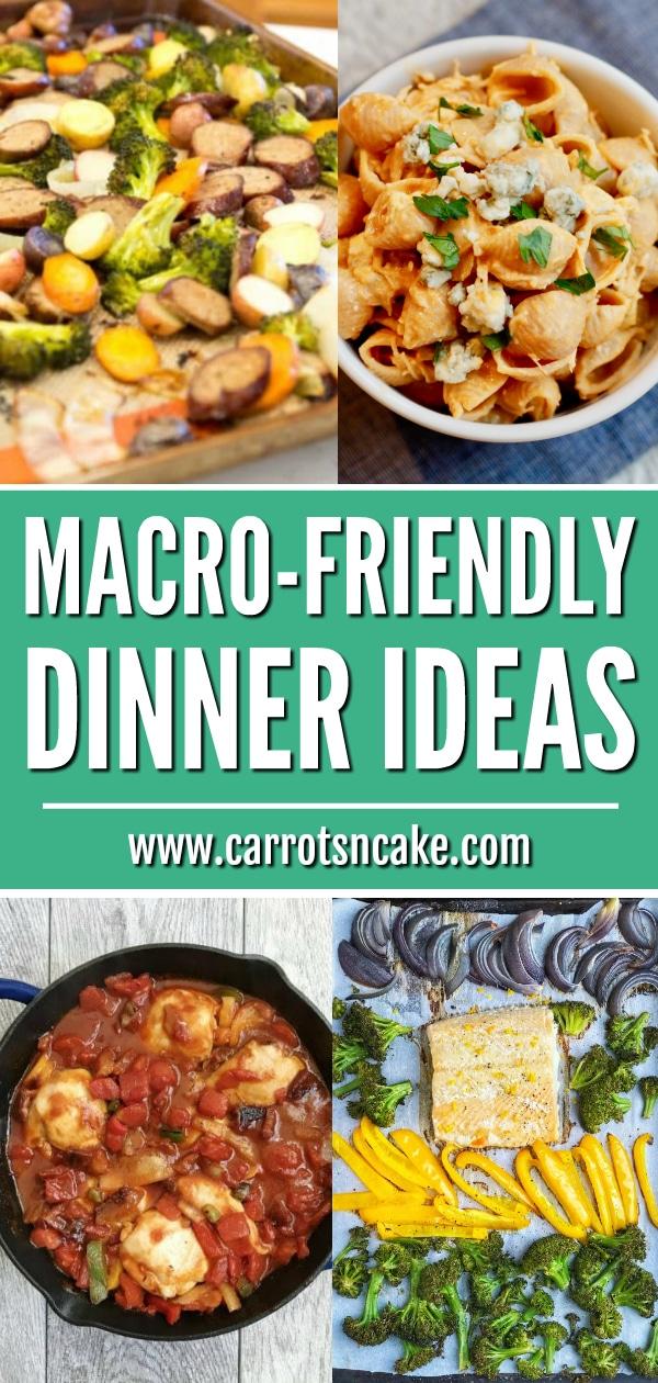 Macro Friendly Dinner Ideas