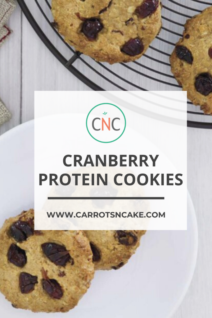 Cranberry Protein Cookies - Carrots 'N' Cake