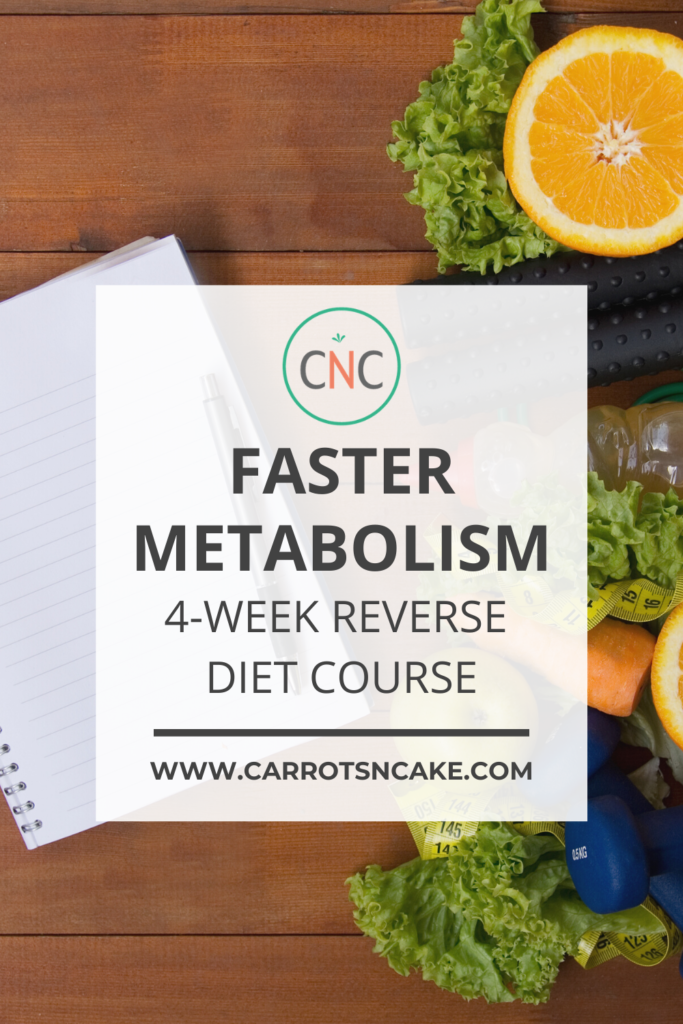 How to Reverse Diet Course