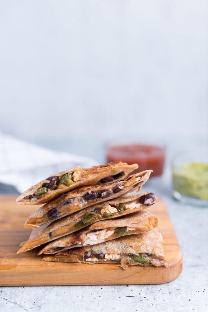 Macro-Friendly Sweet Potato Quesadillas