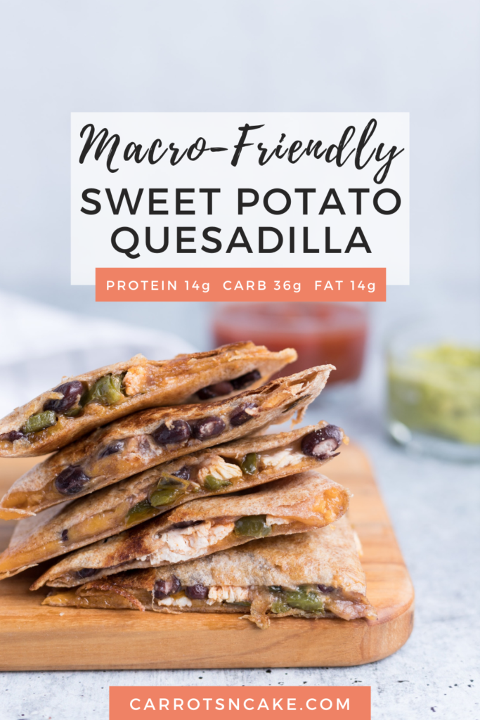 Macro-Friendly Sweet Potato Quesadillas